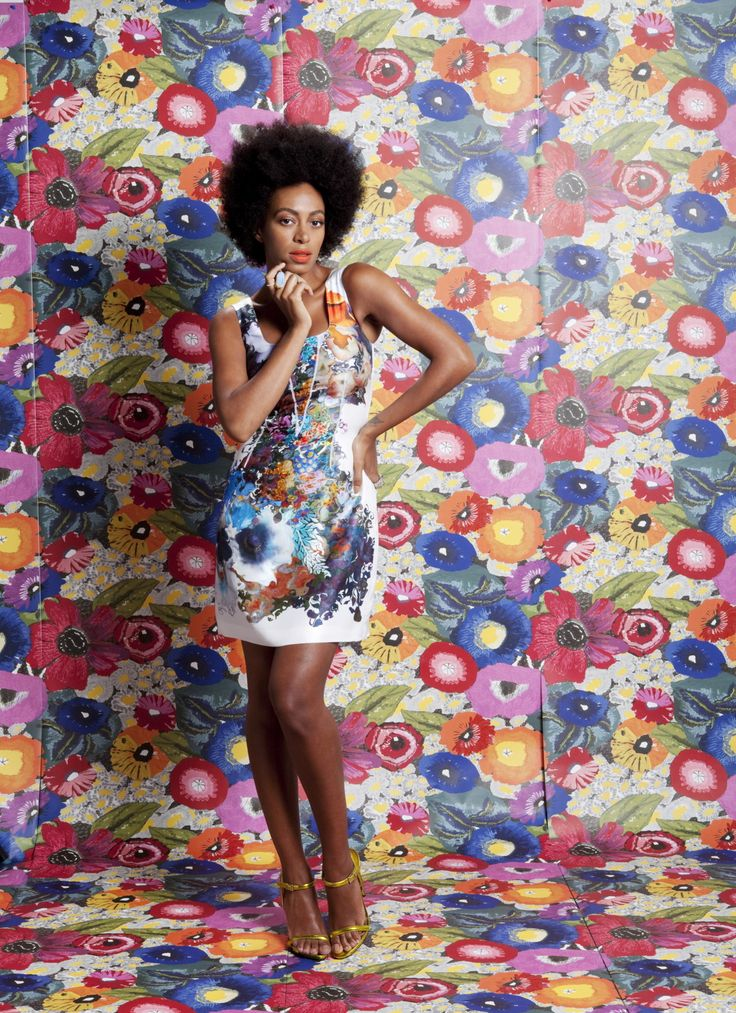 Solange Knowles in Cynthia Rowley
