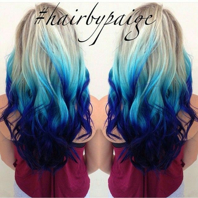 Featuring hair done by the lovely:  @paigemwallace  #dyeddollies  Hair Color Brand: #pravana  Please share your tips and advice in keeping up with Blue hair!