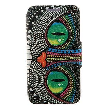 Kinston paistaa silmä hirviö kuvio PU nahka tapauksessa iphone 7 7 plus 6s 6 plus se 5s 5c 5 4s 4 – EUR € 8.81