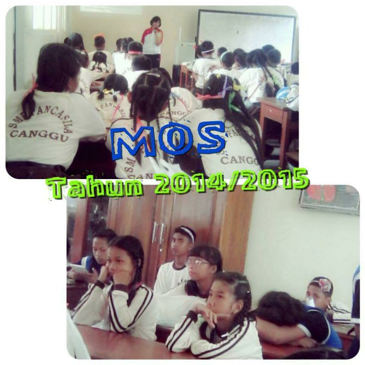 Massa Orientasi Sisswa Baru di SMP Pancasila Canggu tahun 2014 - 2015