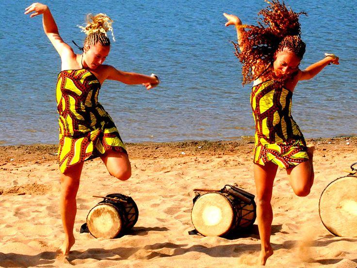 Danse africaine au Sénégal