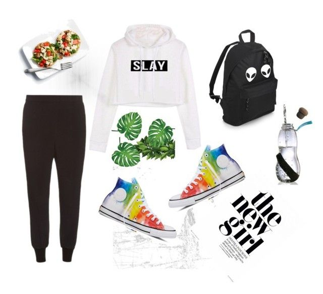 """sport and life"" by shushkova784 on Polyvore featuring STELLA McCARTNEY и Converse"