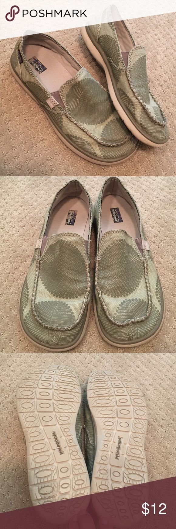 Patagonia women's casual shoe. Excellent condition Surf style casual shoe. Super comfy especially for a wide foot, but these run big. They say size 9 but they are more like a 9.5. Great condition! Patagonia Shoes Flats & Loafers