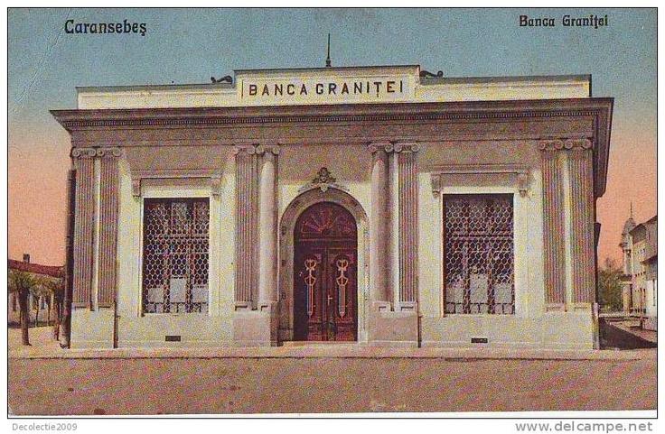 Caransebes - Banca Granitei - interbelica