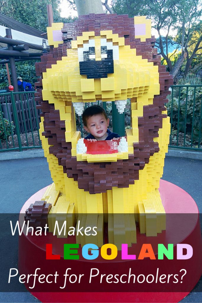 LEGOLAND California - a Delightful Amusement Park for Preschoolers. Get tips for your next theme park visit with young kids in tow.