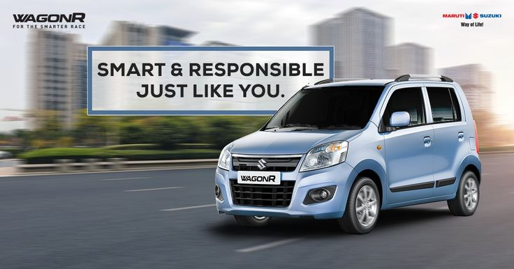 Be known by the car you drive. Smarter design, smarter performance— #Maruti Suzuki #WagonR is designed to reflect who you are. Email : info@autovista.in Contact : 9209200071