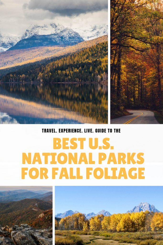 Best USA National Parks for Fall Foliage