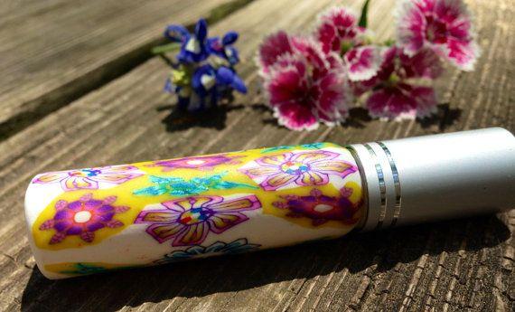VANILLA  Perfume  SprayUnique Handcrafted Fimo by planetearthoils, $30.00