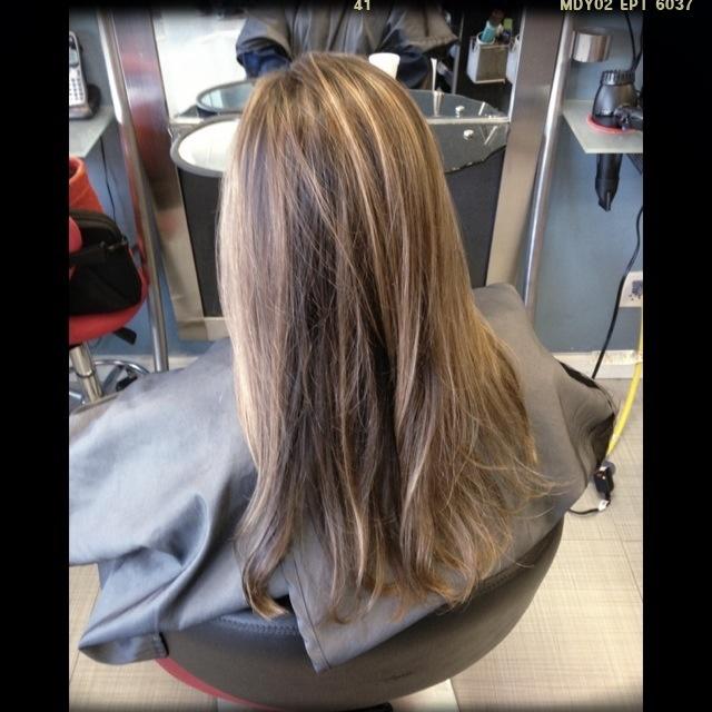 Partial Highlights : Partial highlights pretty hair Pinterest
