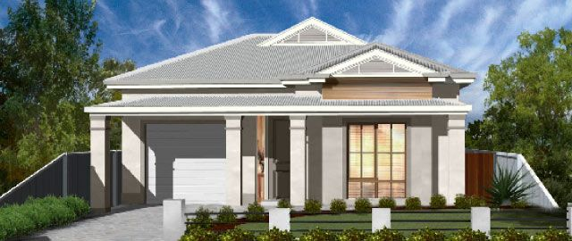 The Ferrara - from the Weeks Peacock Homes Heritage Collection. With the needs of the modern family in mind, the Ferrara is a stunning display of traditional architectural design combined with a functional floorplan.