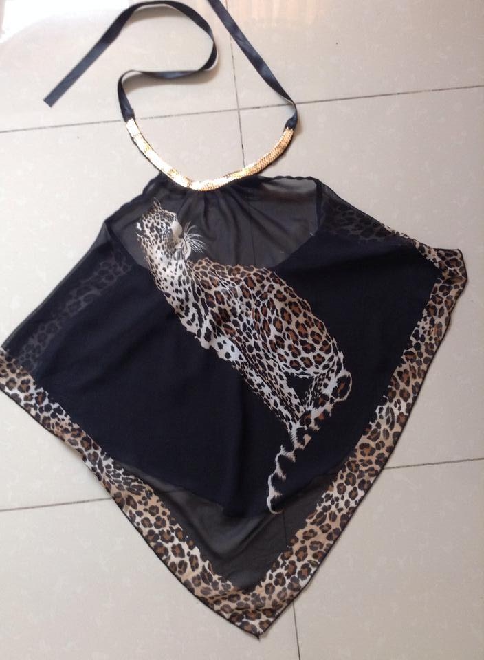 Blusa negra, estilo diferente