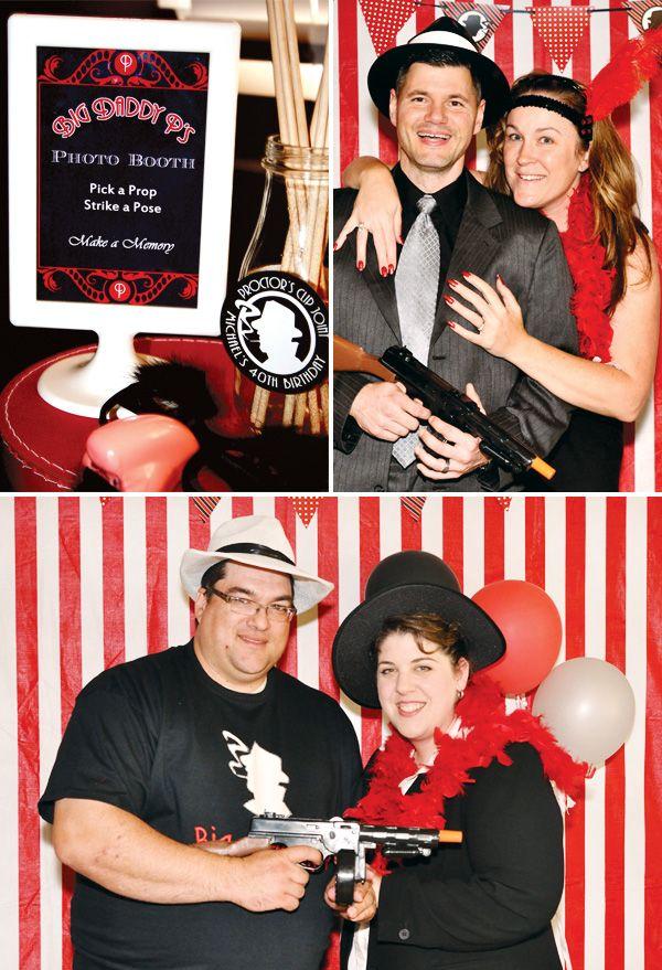 Un photocall divertido para una fiesta años 20 / A fun photocall for a 1920s party
