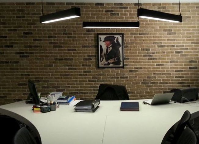 Office refurb using London Town Brick Slips
