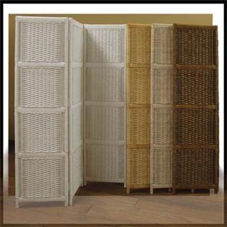 Chasco Designs 4126-4-W 4-Panel Full Weave Screen in White