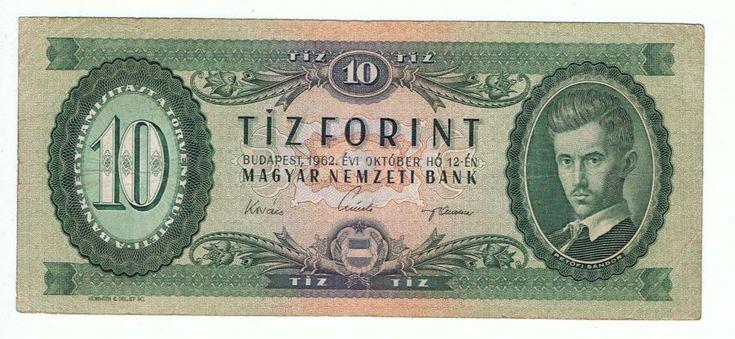 10 forint - 1962 - Magyar papírpénzek honlapja - Bankjegyek.com