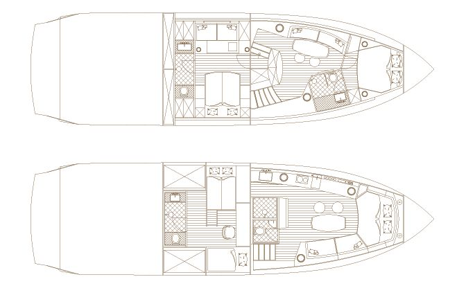 Hedonist Hard Top: Interior Floor Plan