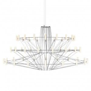 """Arihiro+Miyake's+Coppélia+chandelier+for+Moooi+could+""""only+be+created+with+LEDs"""""""