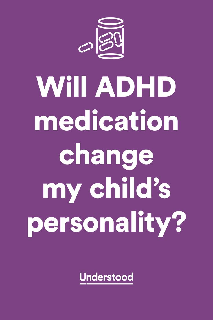 Will #ADHD medication change my child's personality?