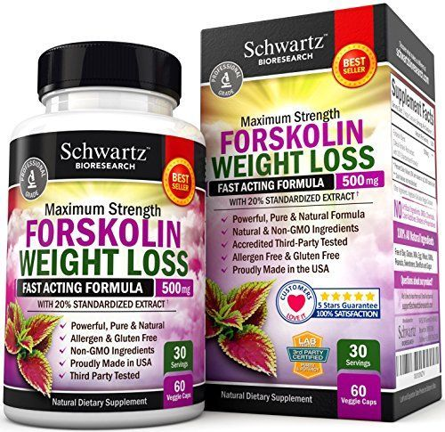 Forskolin Extract for Weight Loss. Pure Forskolin Diet Pills  Belly Buster Suppl...