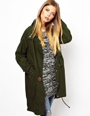 Noisy May Oversized Parka
