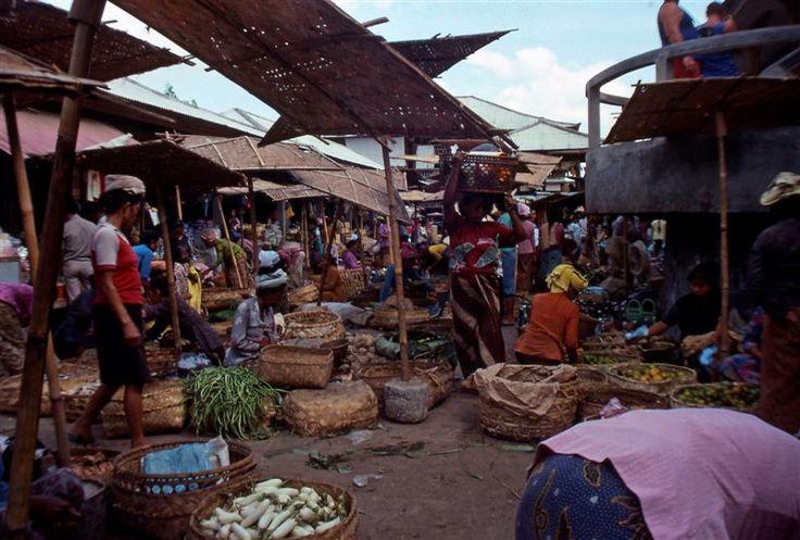 Ubud Market 1988