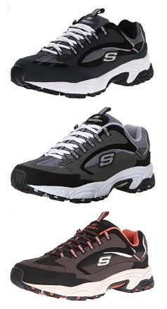 US Size 6.5-10, Skechers Sport Men's Stamina Nuovo Cutback Lace-Up Sneaker