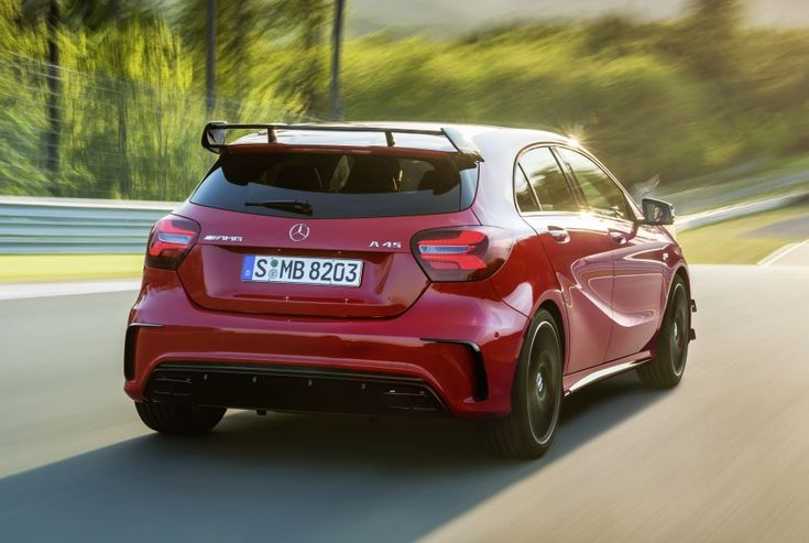 Mercedes-AMG A 45 facelift gets 381 hp and 475 Nm Image #354927