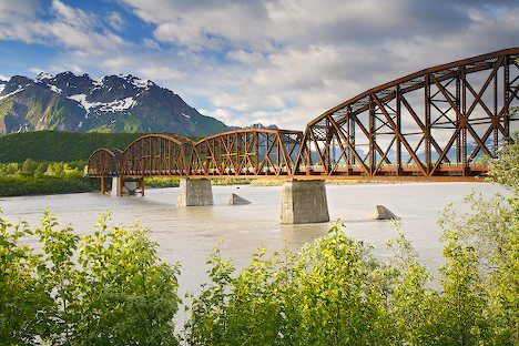 Famous Alaska Landmark Million Dollar Bridge I Alaska