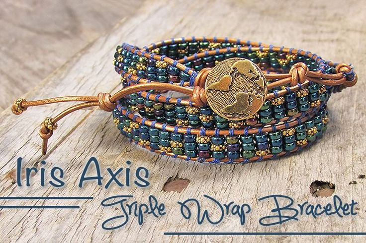 Iris Axis Triple Wrap Bracelet | Loose Ends