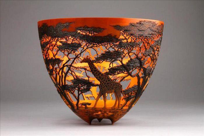 Потрясающие кружевные вазы Gordon Pembridge - Ярмарка Мастеров - ручная работа, handmade