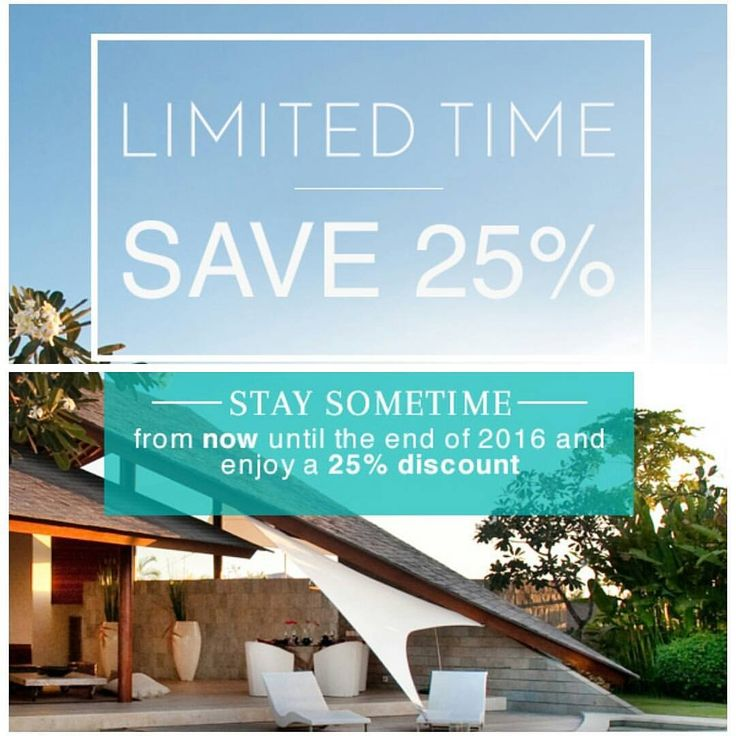 Book by 2nd May and Save an incredible 25%. Avail on stays till end of 2016 Limited time! More info Email: info@geriabalivacation.com www.geriabalivacation.com/the-layar/ #bali #villas #geriabali...