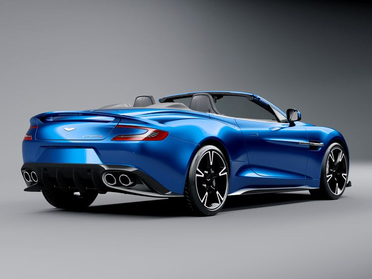 Aston Martin's New Vanquish Volante S Is V Pretty, Supes Powerful | Aston Martin | From WIRED.com