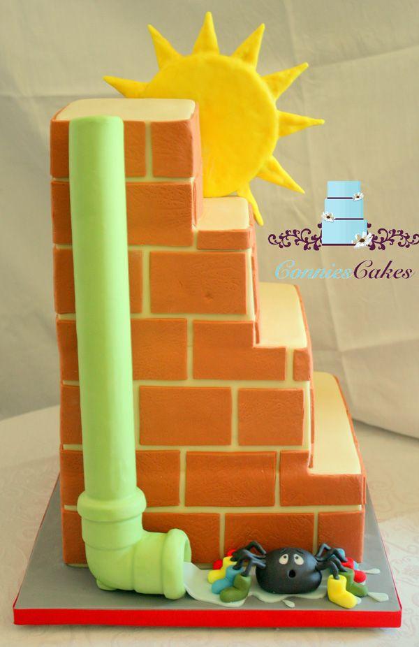 Incy Wincy Spider Cake