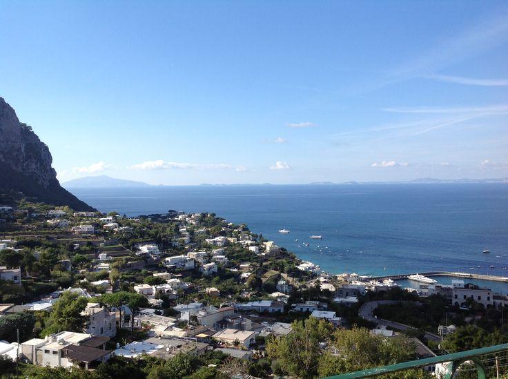 """Beautiful sight from Capri """"piazzetta"""""""