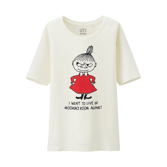 Little My t-shirt by Uniqlo #moomin