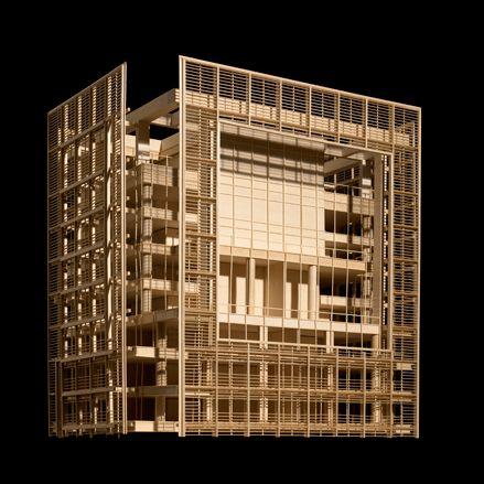 Rothschild Tower, Tel Aviv   Richard Meier's Model Museum, Long Island City