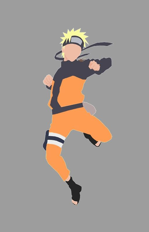Minimalist Naruto Uzumaki