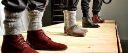 Moda Para Homens: meias por cima da calça são a tendência polêmica do momento