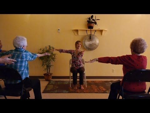 ▶ 1 Hour Energizing Chair Yoga to Infuse Pep Into Your Day! With Sherry Zak Morris - YouTube