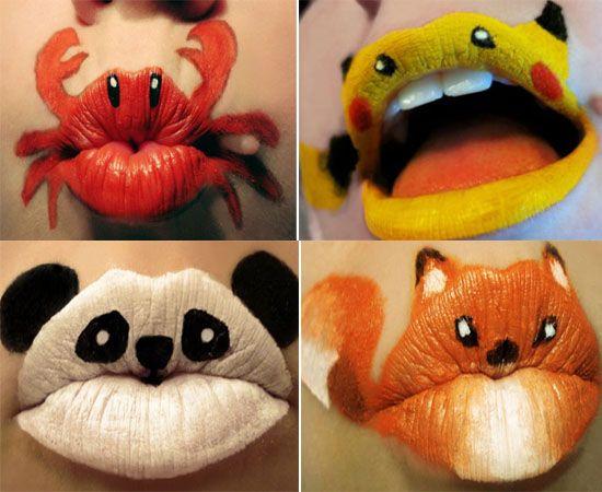 lips artwork   LIP art for those kissable lipssss….