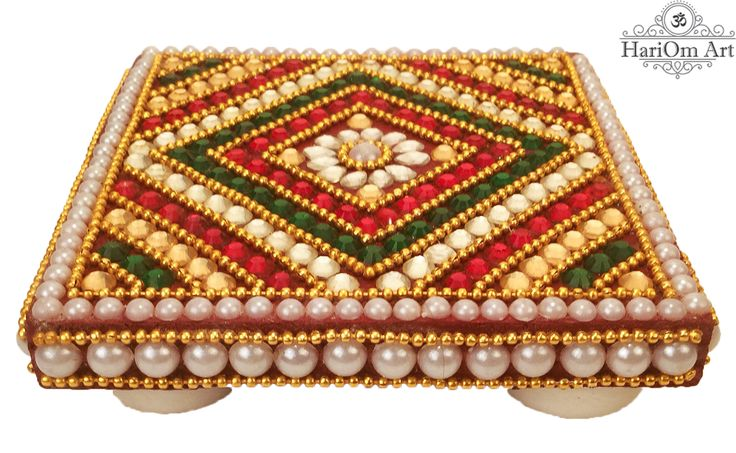Small chowki(bajot) for gifting purposes by HariOm Art