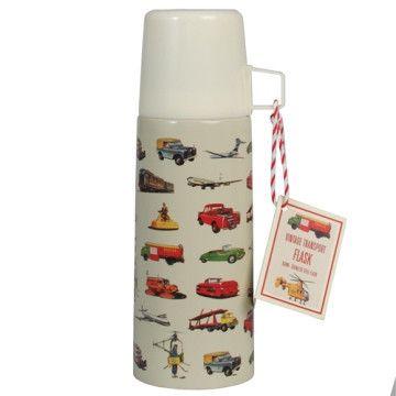 Vintage Transport Flask & Cup