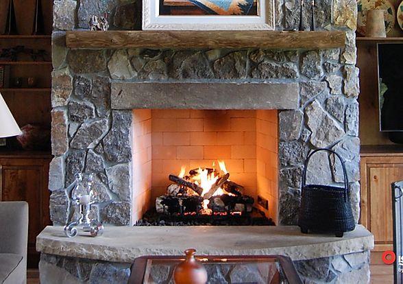 Fireplaces Rustic Brick Fireplace Sacramento In 2020