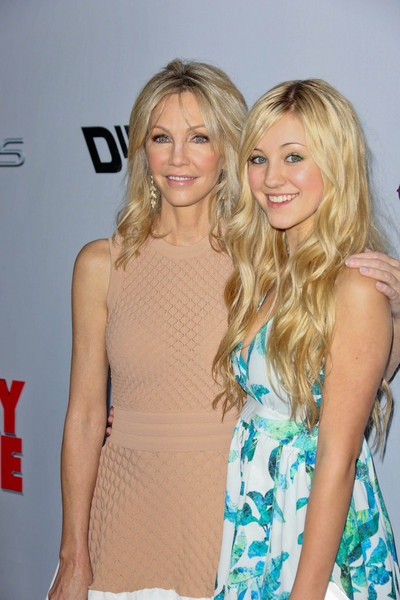 Heather Locklear and daughter Ava Sambora, Heather is finally showing some age