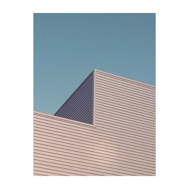 """""""My subconscious is totally programmed to find strong lines, shadow play, symmetry and color"""" 