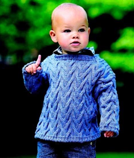 Bluse med snoninger http://www.hendesverden.dk/Strik-og-haekl-til-barn-og-baby/Strik/Baby-strik-bluse-med-snoninger/