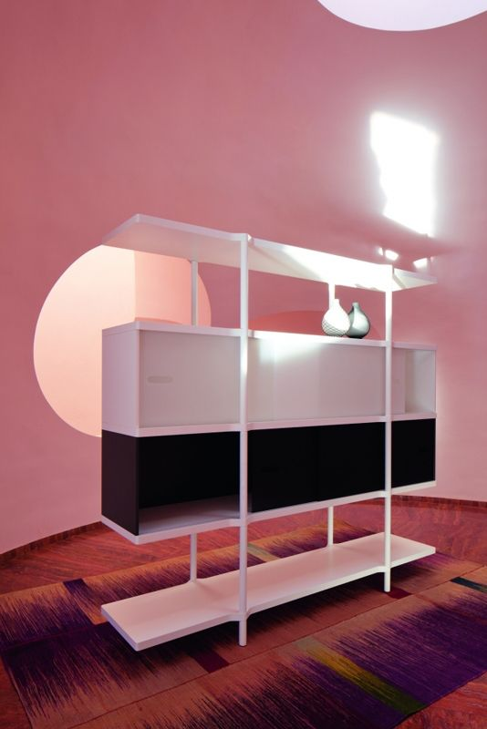 Atelier Pfister Collection 2012, Werd shelf by StauffacherBenz
