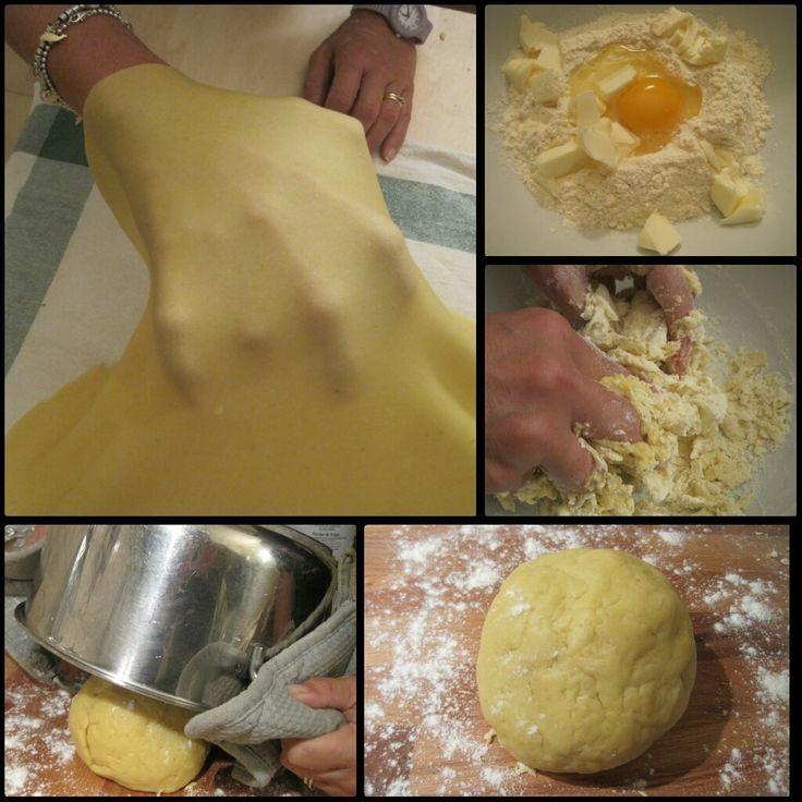 Ricetta pasta strudel, ricetta base