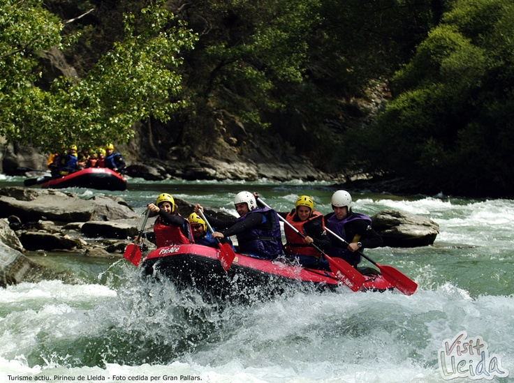 Active Tourism.  (Lleida Pyrenees-Spain)
