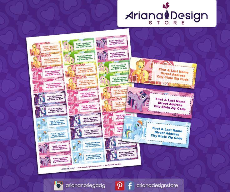 #etiquetas #etiquetasparadirecciones #mipequeñopony #arianadesignstore #mylittlepony #addresslabel #partymylittlepony #label #mail #stickers #letter #mlp #etiquetascolegio #twilightsparkle #rainbowdash #pinkiepie